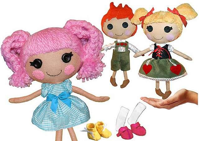 Куклы лалалупси своими руками 55