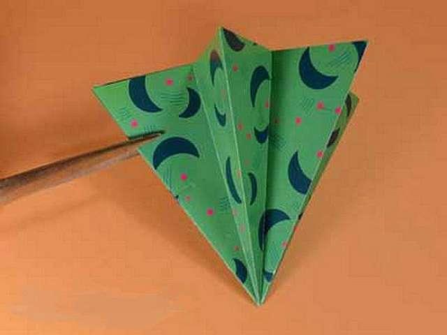 Как сделать оригами елку