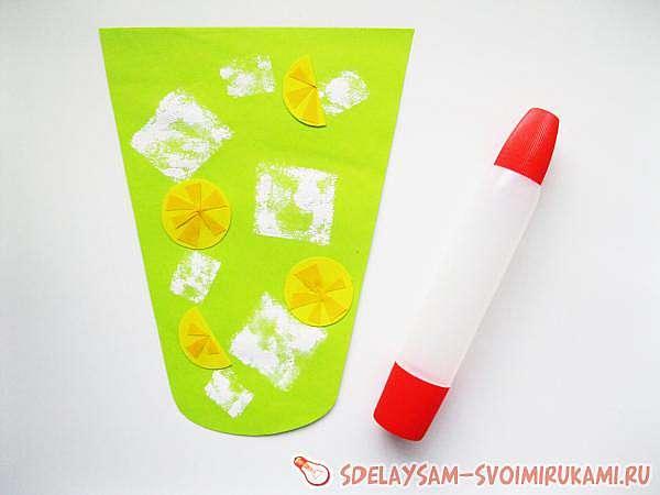 Лимонад из цветной бумаги