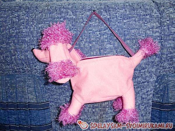 Сумка-игрушка собачка