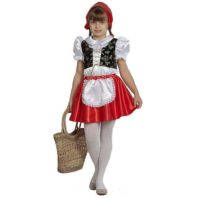 Шьем карнавальный костюм Красная Шапочка