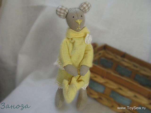 Шьем тильду мышку