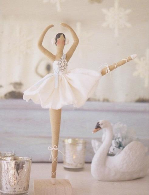 Шьем тильду балерину