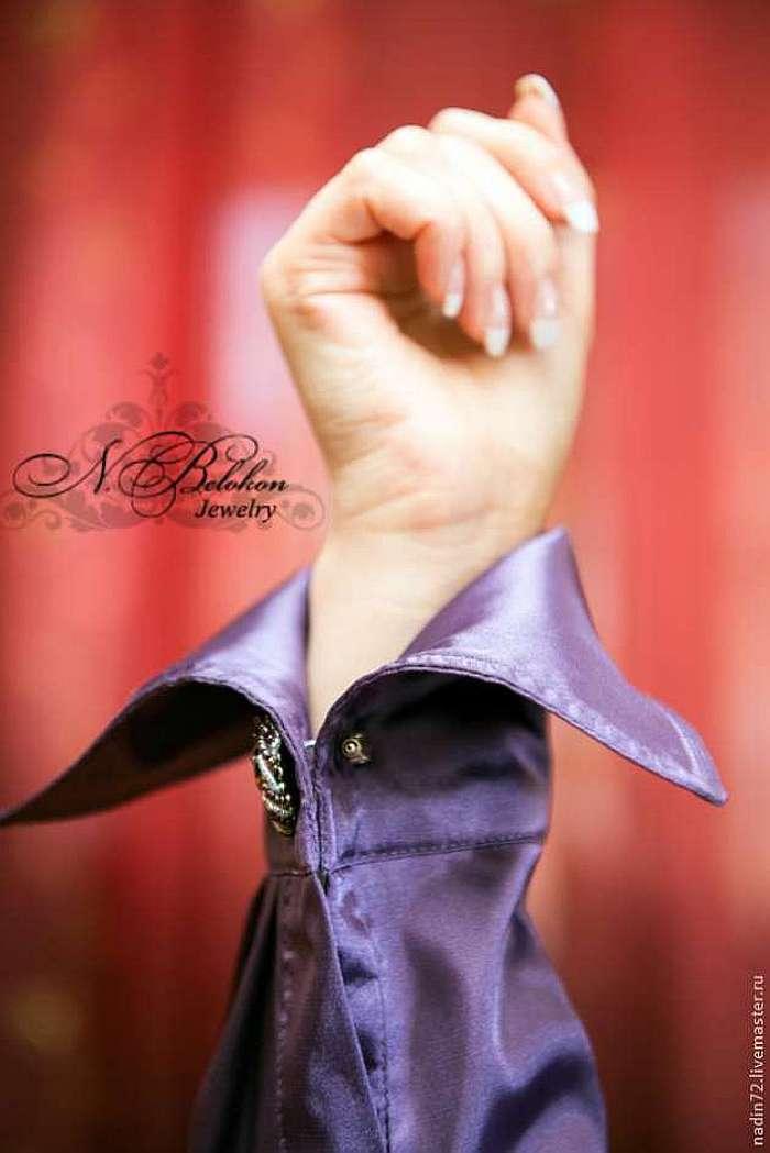 Мастер-класс по вышивке бисером: запонки