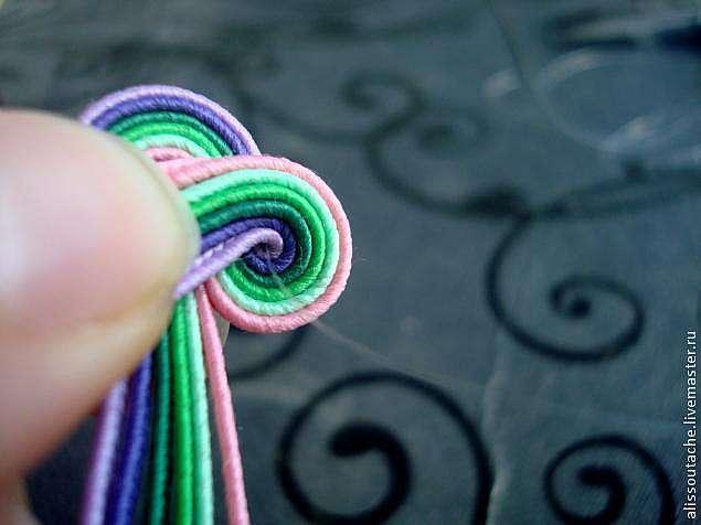 Создаем бусину в технике объемной сутажной вышивки