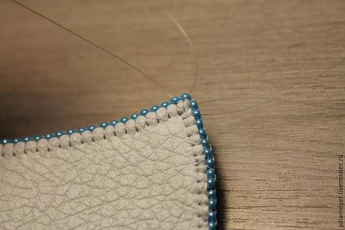 Вышиваем шикарное колье «Зазеркалье»