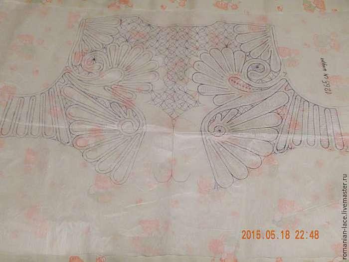 Делаем схему для румынского кружева