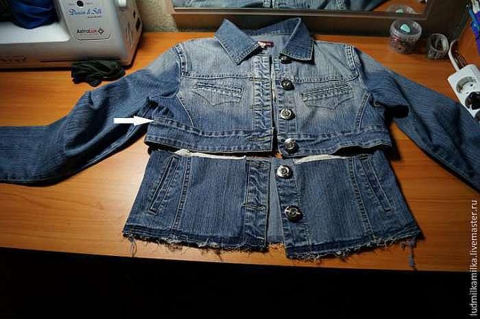 Как оформить джинсовую куртку своими руками