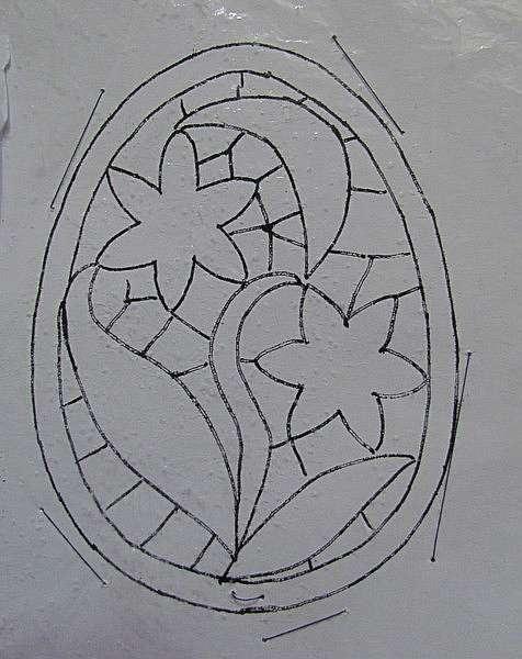 Мастер-класс по вязанию салфетки в виде пасхального яйца