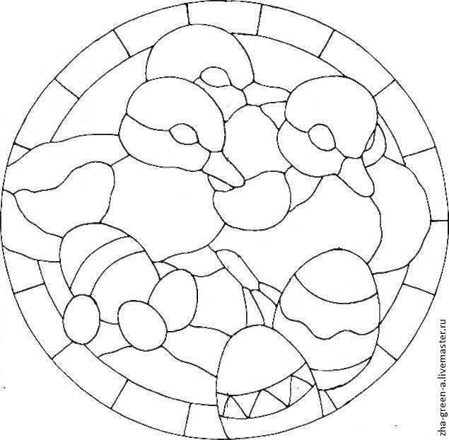 Мастер-класс: Пасхальная шкатулка в технике кинусайга (пэчворк без иглы)