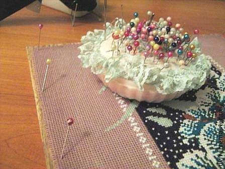 как оформить вышивку или рамка из ничего