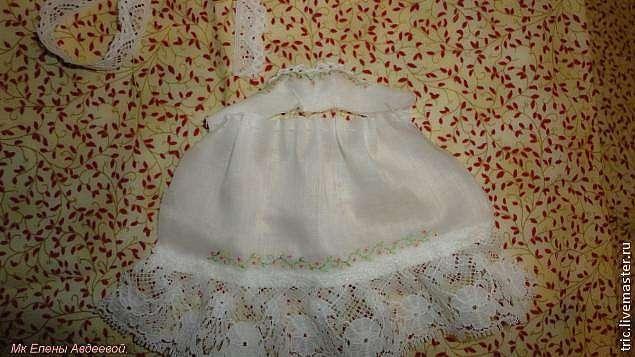 Одежда для кукол: шьем ночную сорочку