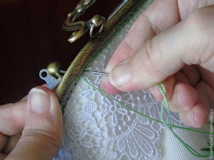 Волшебное преображение недошитой юбки в вышитую сумочку
