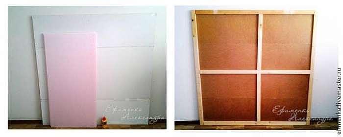 Мастер-класс: изголовье кровати в техники вязания крючком и вышивки