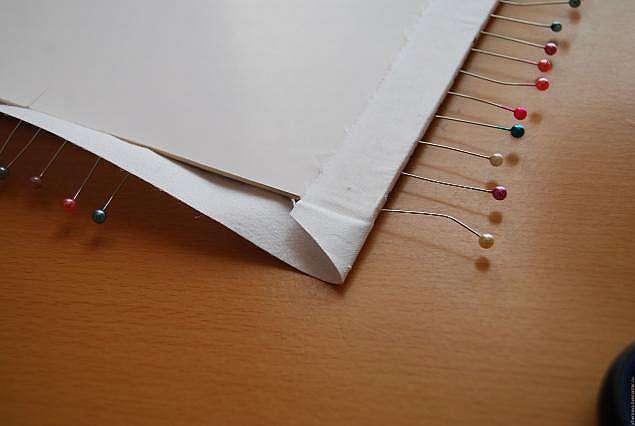 Натяжка готовой вышивки