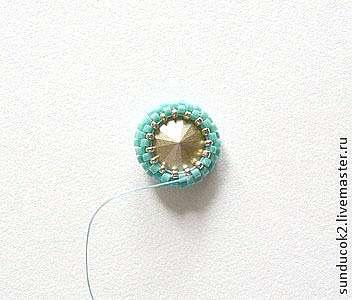 Создаем серьги с шелковой лентой Шибори