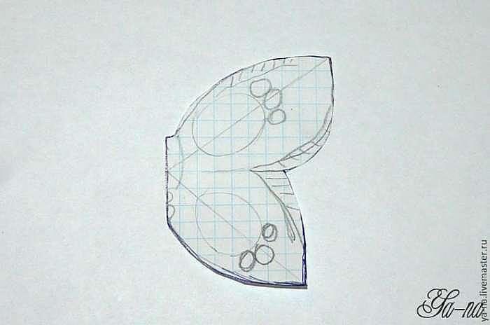 """Мастер-класс по изготовлению трансформера кулона-броши """"Бабочка"""""""