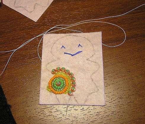 Куколка для создания хорошего настроения :)