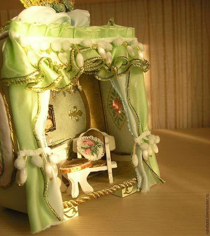 Создаем будуар императрицы в обычном будильнике