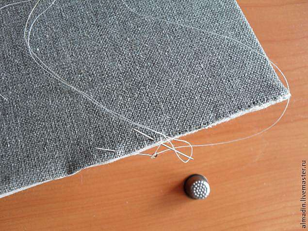 Как вставить вышивку в раму