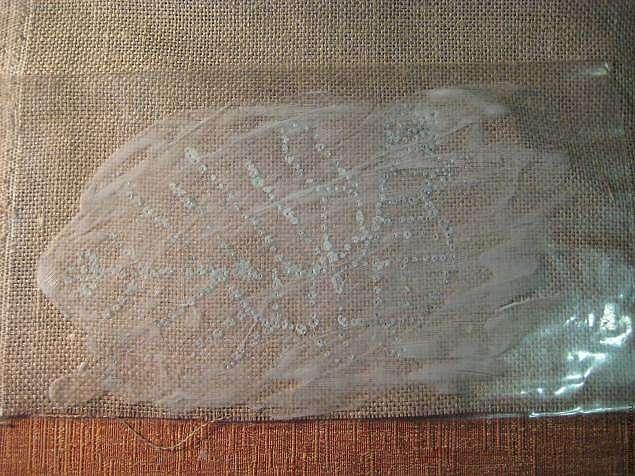Как перевести рисунок вышивки на грубую ткань, трикотаж или войлок