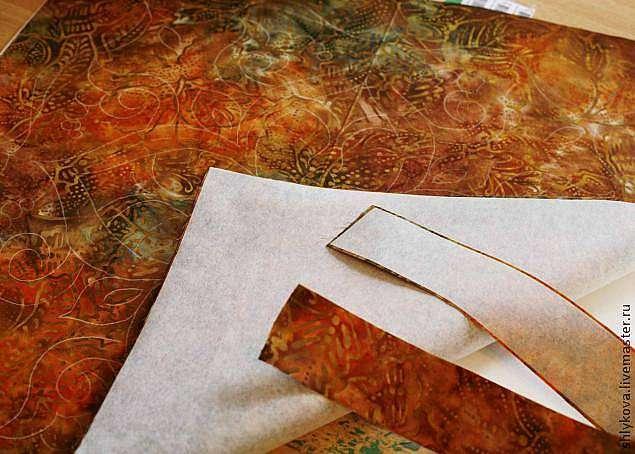 Создаем орнамент в технике фактурного шитья. Трапунто