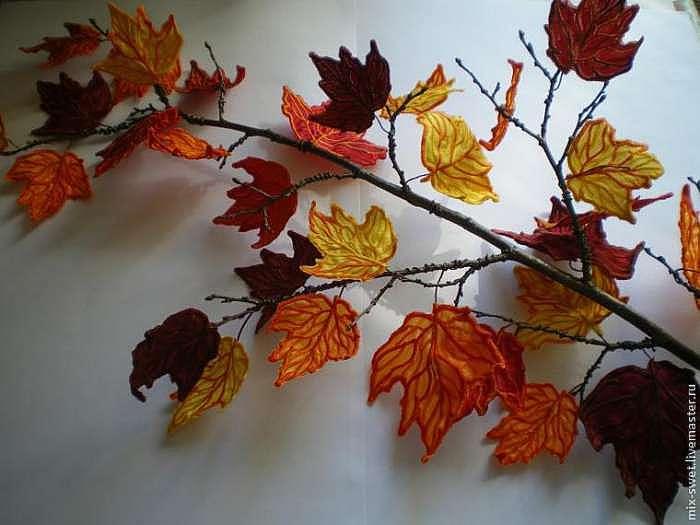 Создаем осенние листья