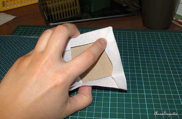 Как оформить (закрепить) пинкип на обложке блокнота.