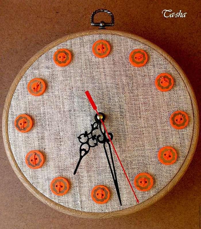 Часы в стиле Hoop art