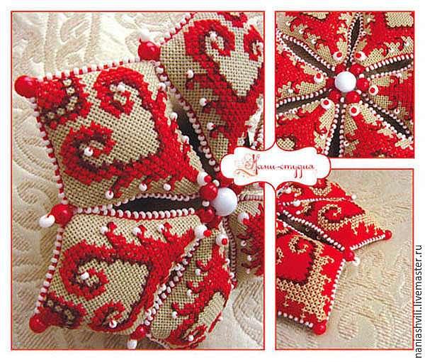 Мастер-класс: делаем оригинальную текстильную звезду на Новый год