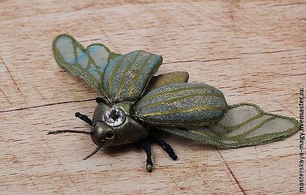 Создаем майского жука по мотивам работ Michele Carragher