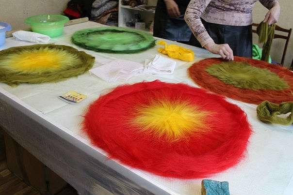 Как сделать яркие волшебно-уютные коврики