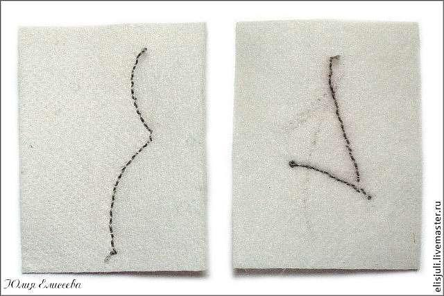 Мастер-класс по технике вышивки контура изделия из бисера