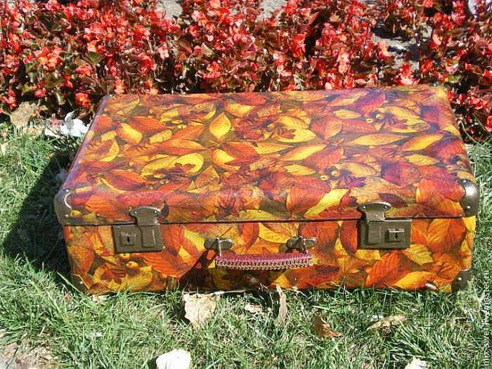 Мастерим осенний чемодан