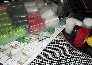 Полный урок по вышивке в ковровой технике