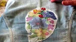 Виды бисерных узоров на одежде и украшениях