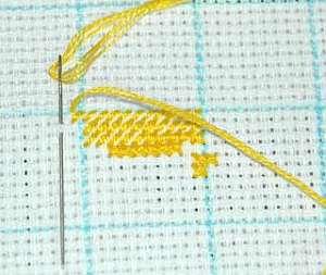 Вышивка овечки крестом в мастер-классе с подборкой схем