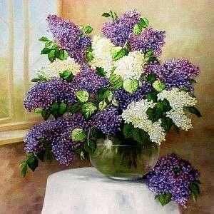 Мастер-класс по вышивке лентами цветочных картин