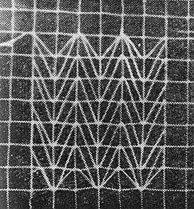 Ажурная вышивка на салфетке и виды швов в филейно-гипюрном рукоделии