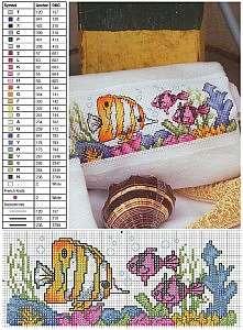 Вышивка на домашних полотенца крестиком