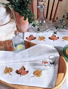 Разнообразные схемы вышивки крестом для кухни