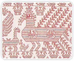 Старинная вышивка орловский спис