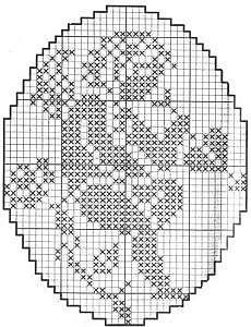 Подборка схем для вышивки трогательных ангелочков крестиком