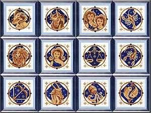 Зодиакальные созвездия для вышивки крестиком