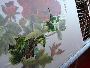 Искусство вышивки шелком по шелку