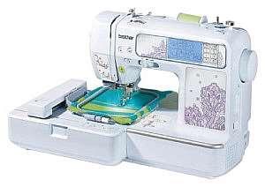 Вышивка на швейной машинке