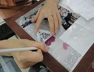 Вышиваем алмазные картины