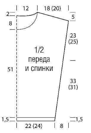 Пулундер с графическим рисунком