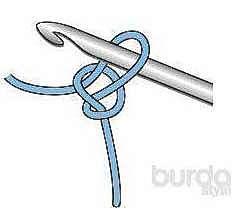 Вязание крючком: воздушные петли