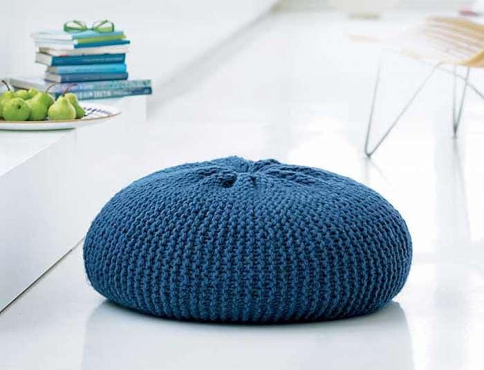 Круглая подушка